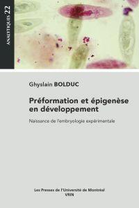 Préformation et épigenèse e...