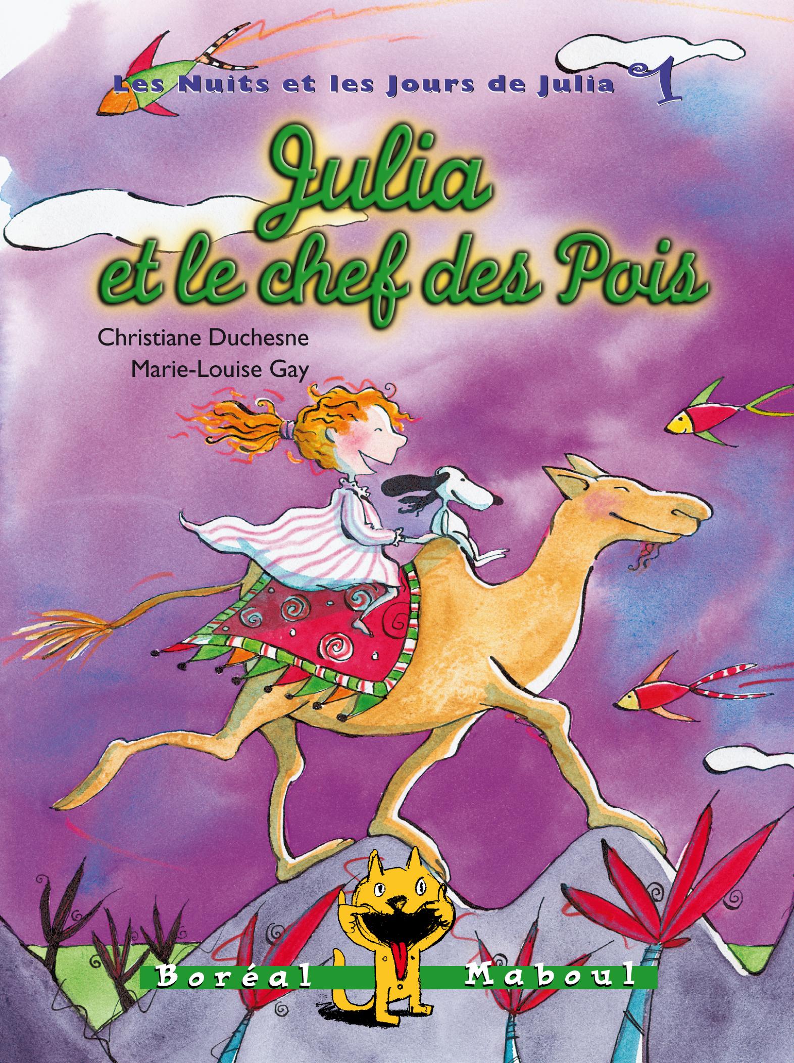 Julia et le chef des Pois