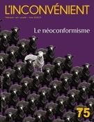 Image de couverture (L'Inconvénient. No. 75, Hiver 2019)