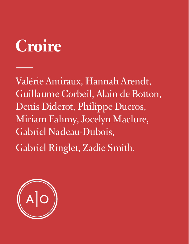 Dossier Croire