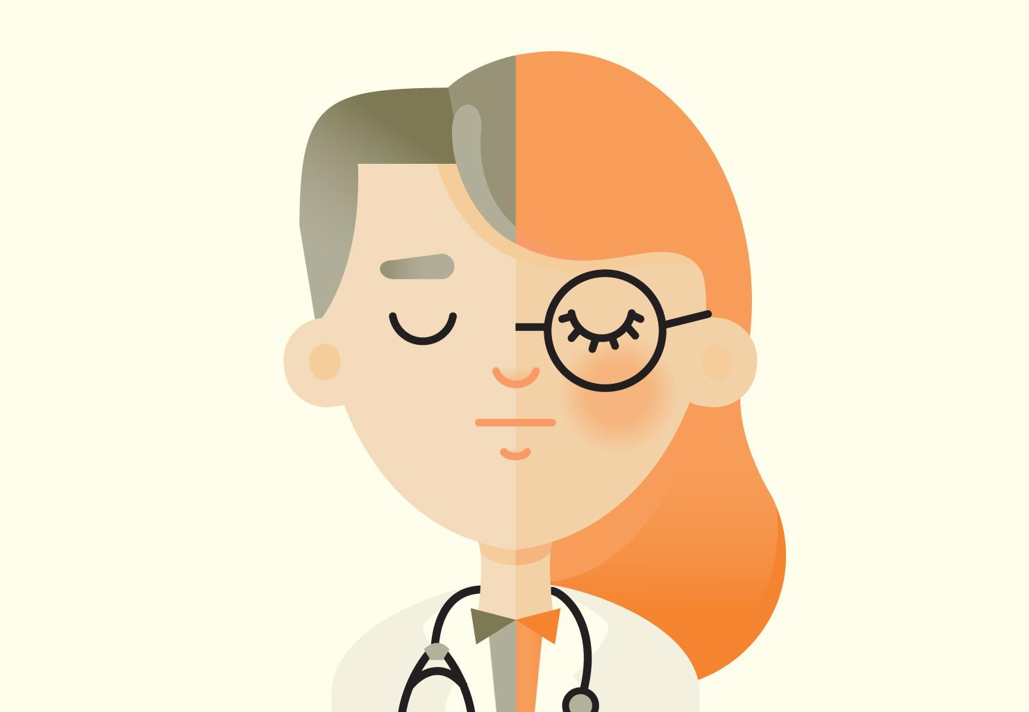 La féminisation des professions médicales
