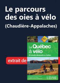 Le parcours des oies à vélo...