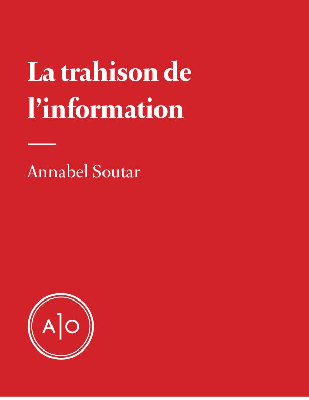 La trahison de l'information