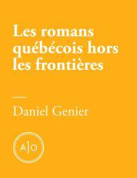 Les romans québécois hors l...