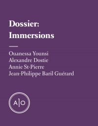 Dossier Immersions