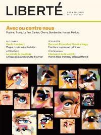 Image de couverture (Liberté. No. 319, Printemps 2018)