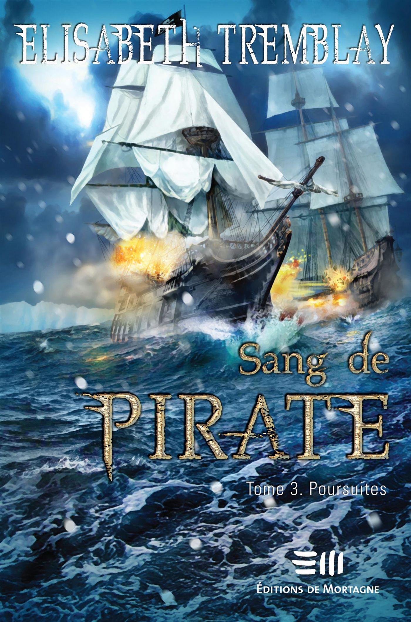 Sang de pirate 03 : Poursuites