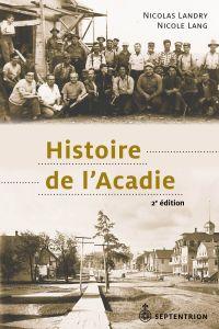 Image de couverture (Histoire de l'Acadie [2e édition])