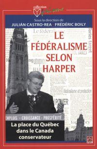 Image de couverture (Le fédéralisme selon Harper)