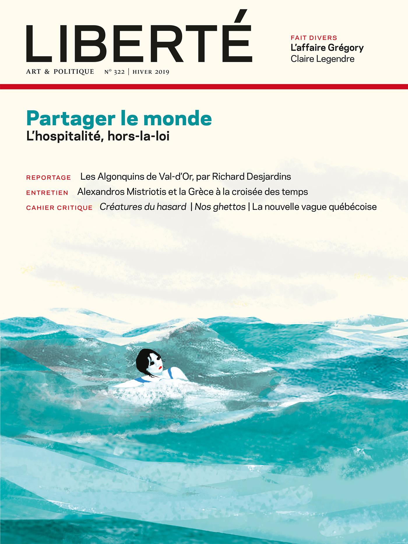 Revue Liberté 322 - Partage...
