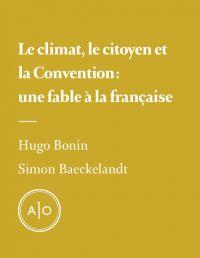 Le climat, le citoyen et la...