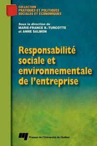 Responsabilité sociale et e...