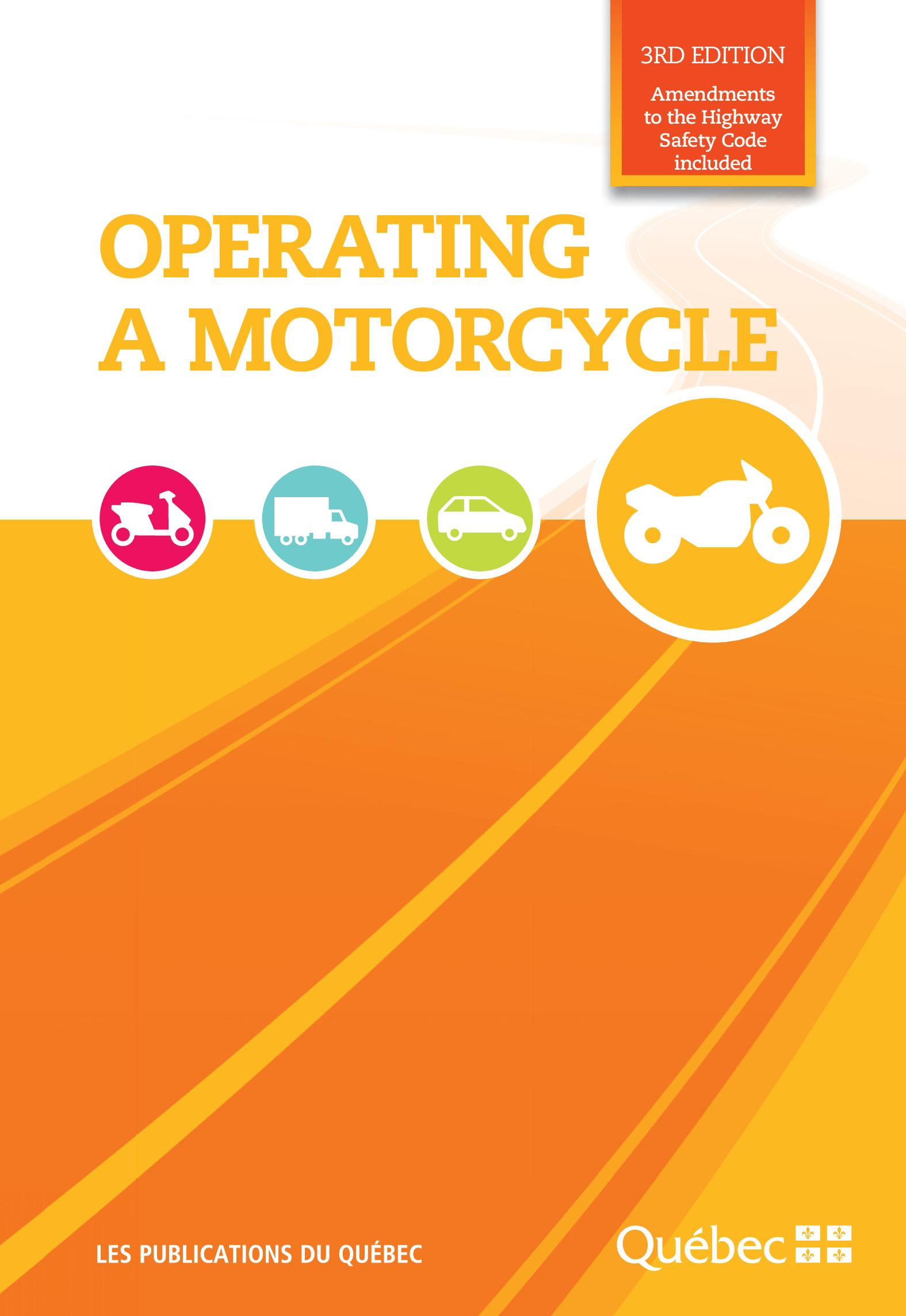 Operating a Motorcycle
