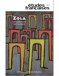 Image de couverture (Volume 39, numéro 2, 2003 - Zola, explorateur des marges)