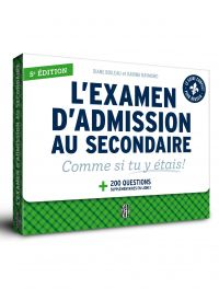 L'examen d'admission au sec...