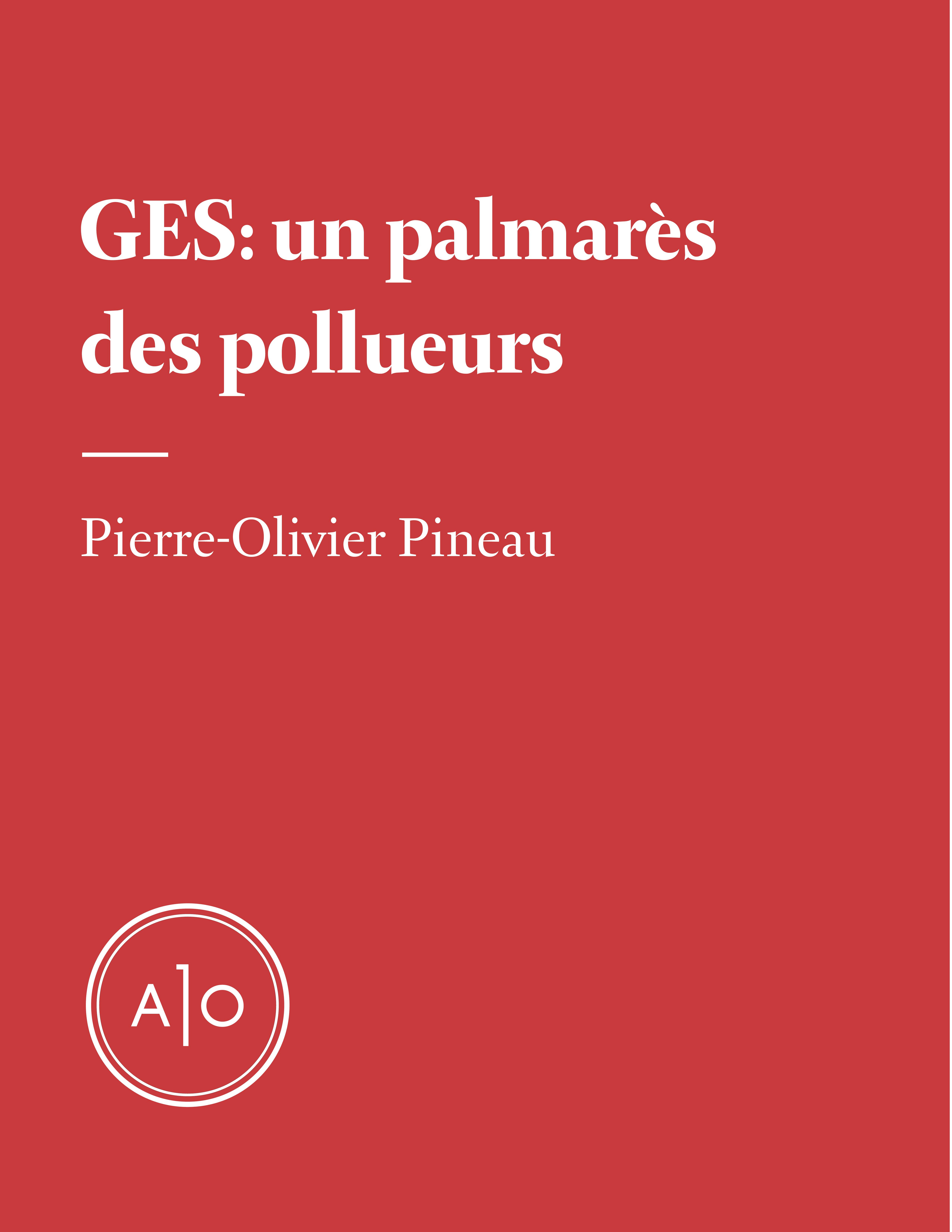 GES: Un palmarès des pollueurs