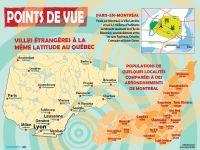 [001] Villes étrangères à la même latitude au Québec