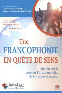 Une francophonie en quête d...