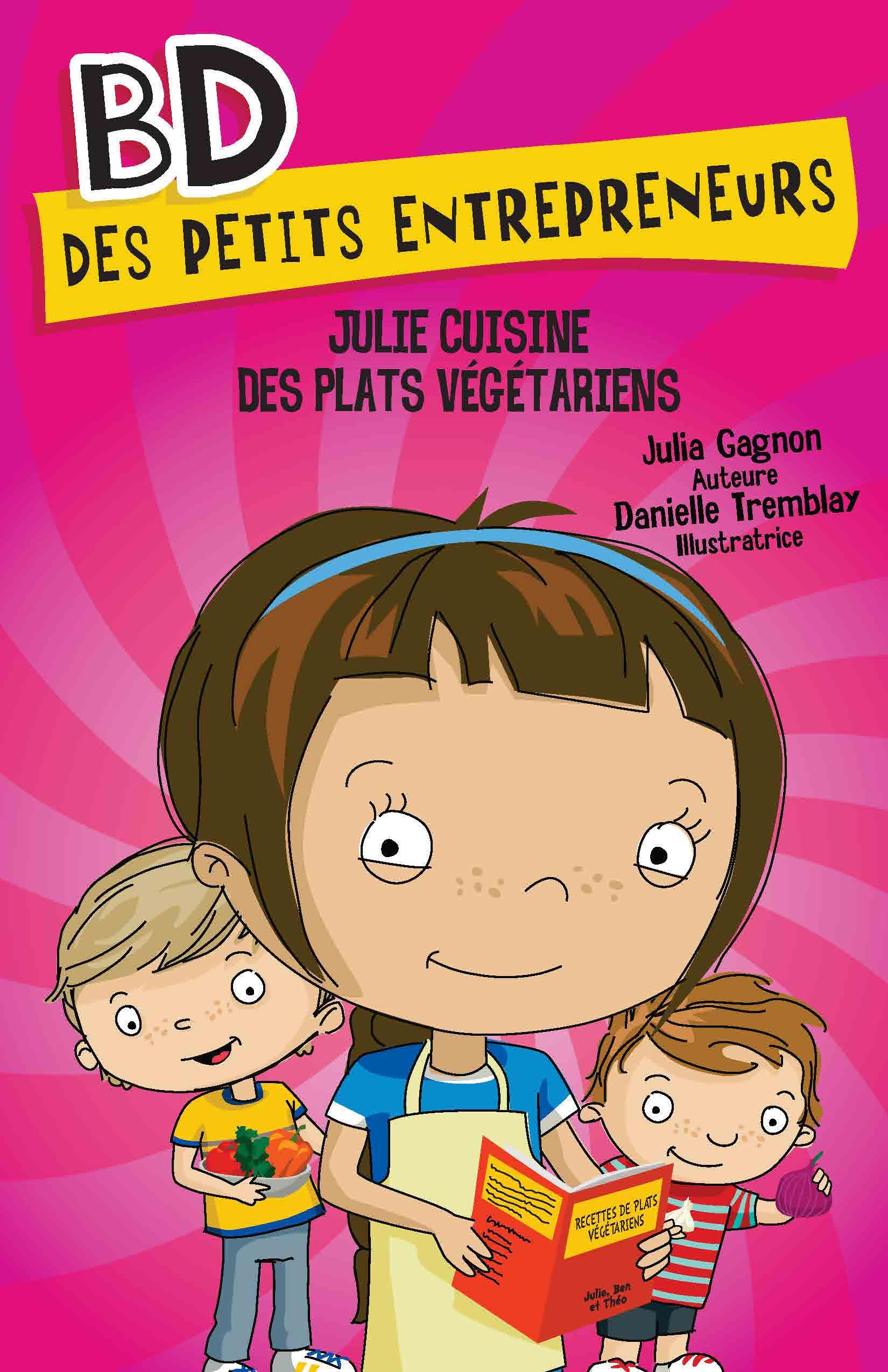 Julie cuisine des plats végétariens