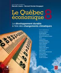 Image de couverture (Le Québec économique 8. Le développement durable à l'ère des changements climatiques)
