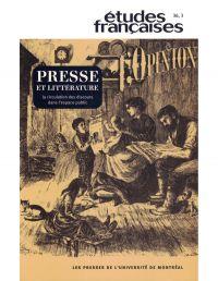 Volume 36 numéro 3, 2000