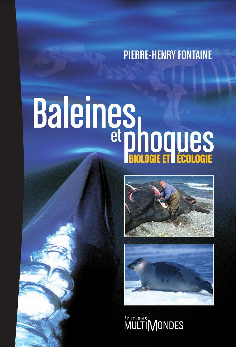 Vignette du livre Baleines et phoques: Biologie et écologie