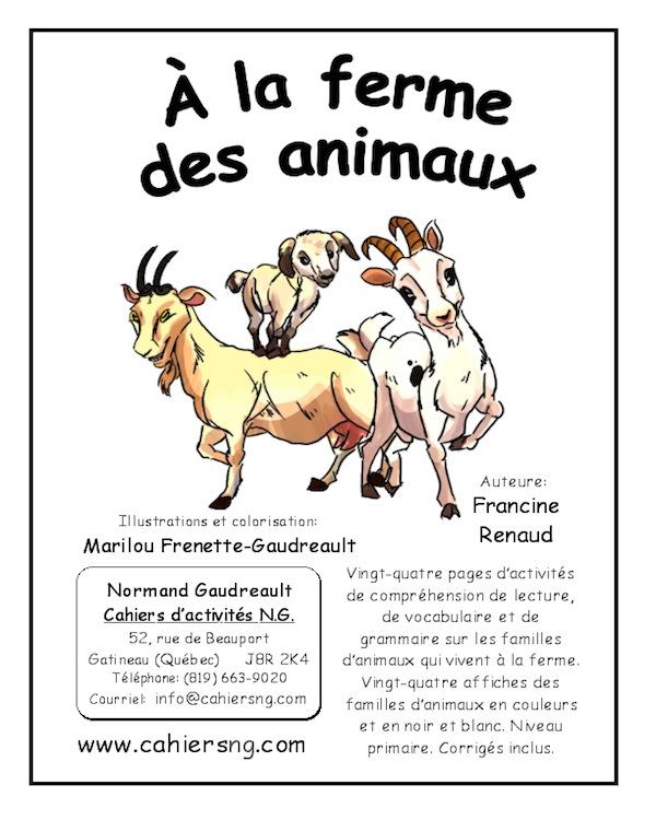 À la ferme des animaux