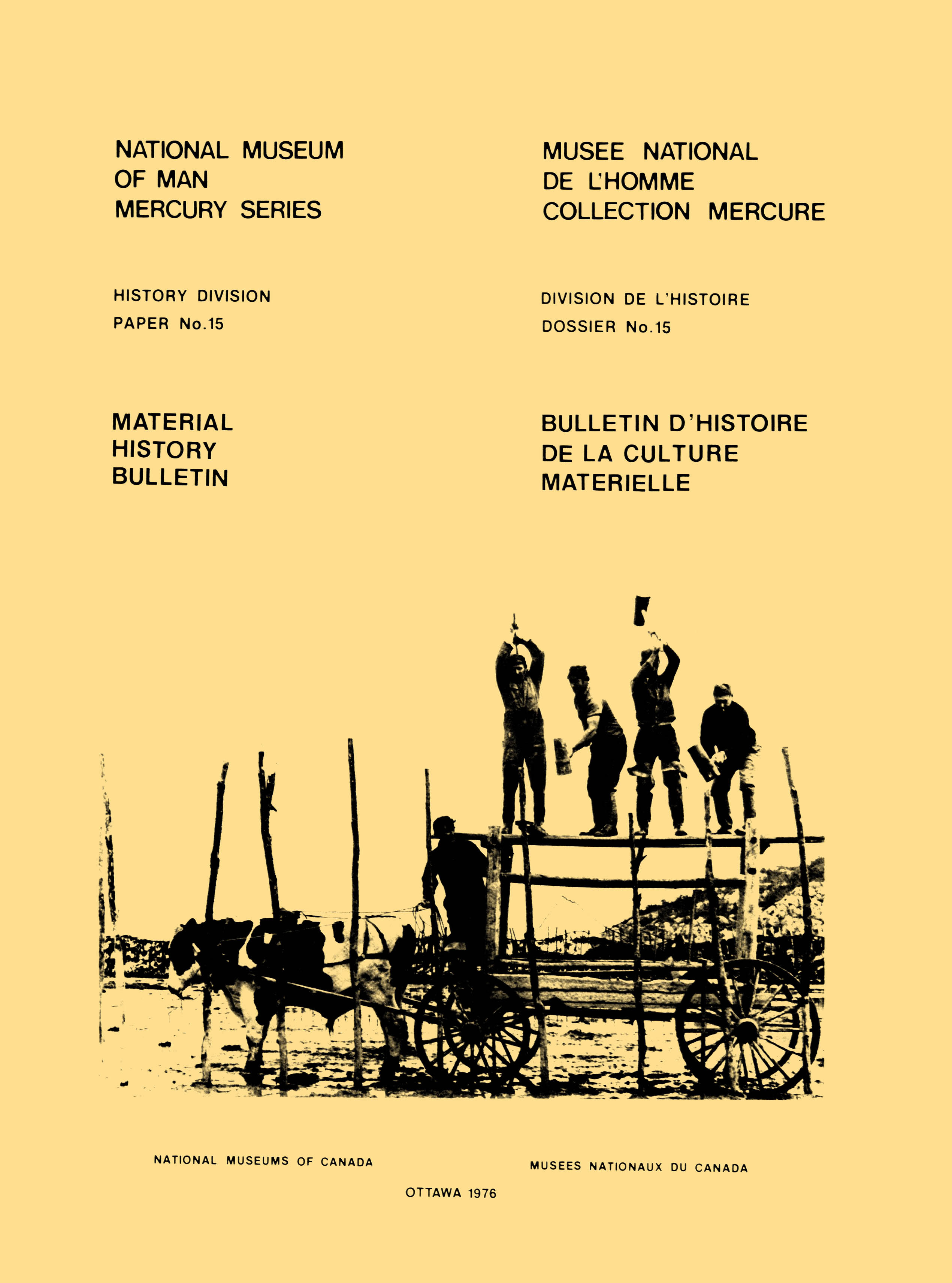 Material history bulletin n...