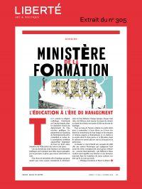 Revue Liberté 305 - Dossier...