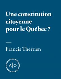 Une constitution citoyenne ...