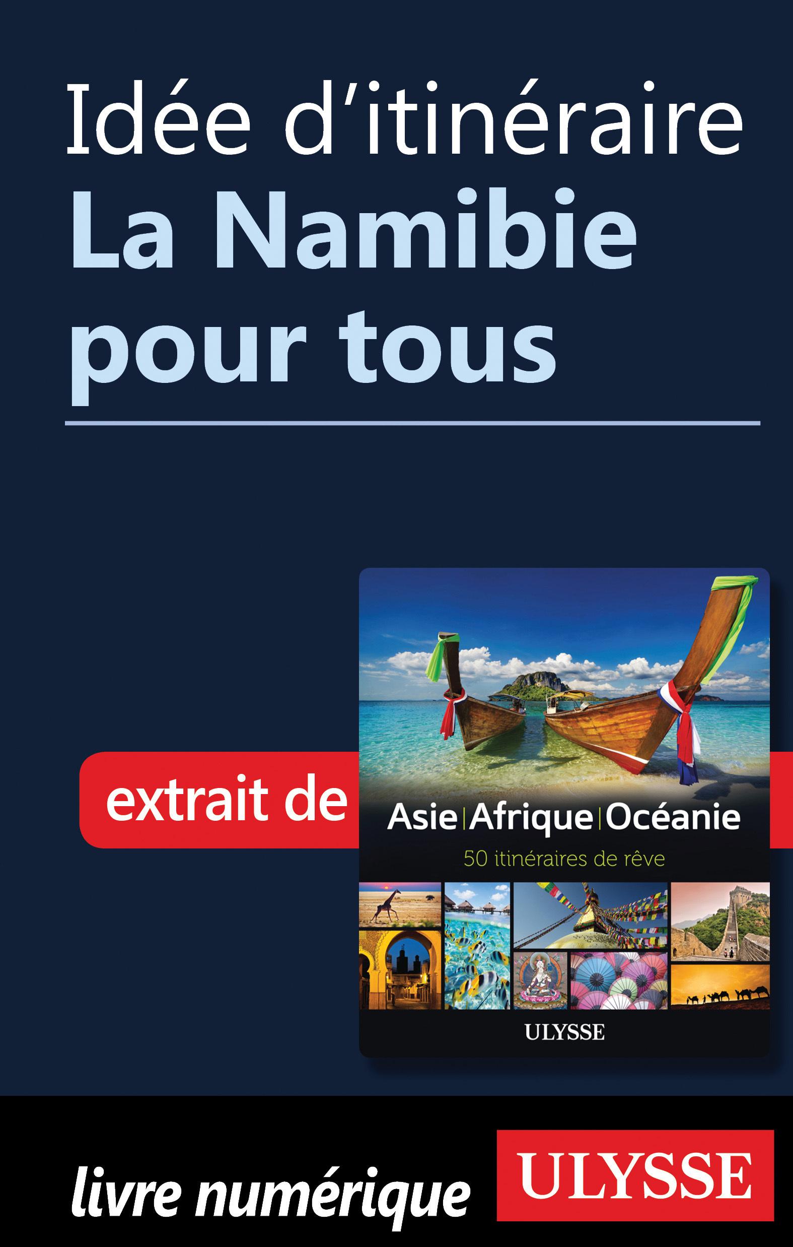 Idée d'itinéraire - La Nami...