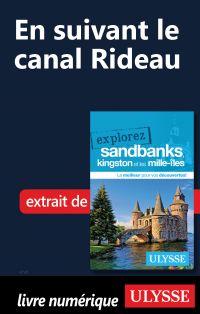 En suivant le canal Rideau