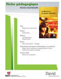 Cover image (Cadavres à la sauce chinoise - fiche pédagogique)