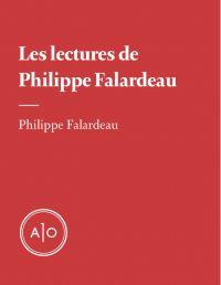 Les lectures de Philippe Falardeau