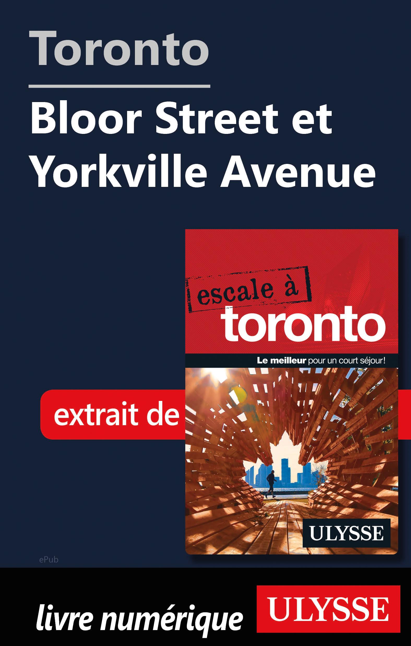 Toronto - Bloor Street et Y...